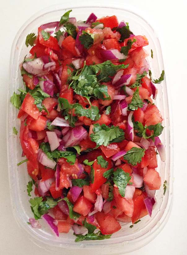 Pico De Gallo for Chicken Tortilla Soup { I Eat Therefore I Cook}